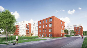 Molenkant - appartementen Harelbeke - exterieur